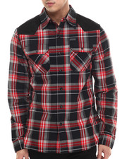 Button-downs - Plaid Woven L/S Button-Down