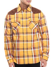 Men - Plaid Woven L/S Button-Down