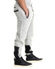 Men - Quilted Sweatpant