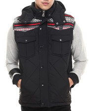 Men - Quilted Bubble Vest