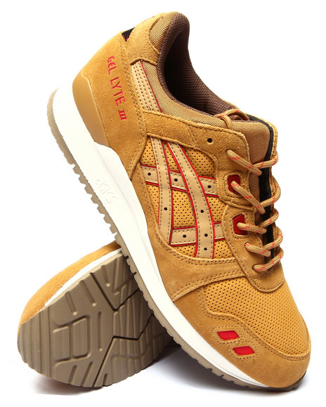 Asics - Men Yellow Gel Lyte Iii Sneakers