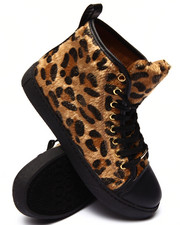 Fashion Lab - Lenox Leopard High Top Sneaker