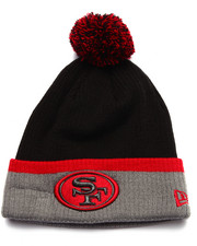 Men - San Francisco 49ers Cuff Popper knit Hat