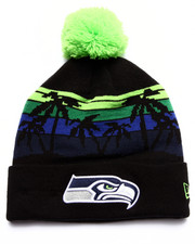 Men - Seattle Seahawks Winter Tide Beach Knit Hat