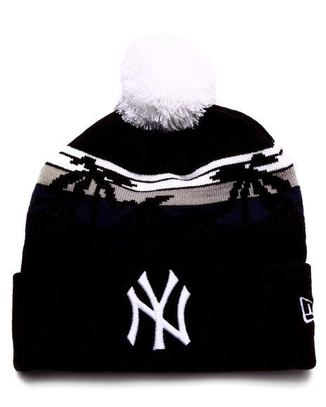 New Era Men New York Yankees Winter Tide Beach Knit Hat Multi