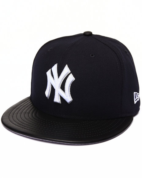 New Era - Men Navy New York Yankees Fitted Etcher 5950 Fitted Hat