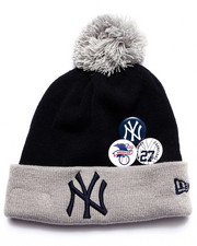 Men - New York Yankees Status Pin Knit Hat
