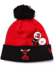 Men - Chicago Bulls Status Pin Knit Hat