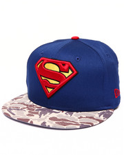 Men - Superman Camo Hero 950 Snapback Hat