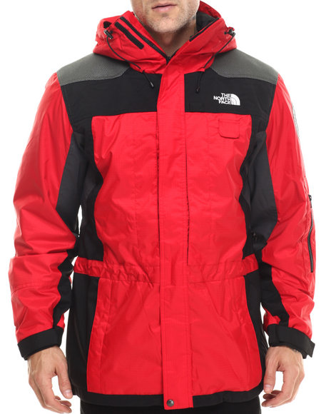 The North Face - Men Red Steep Tech Heli Search & Rescue Jacket