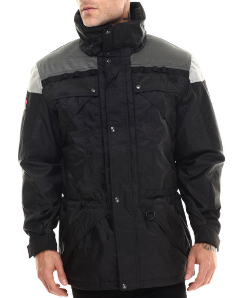 The North Face - Men Black Steep Tech Mountain Heli Jacket
