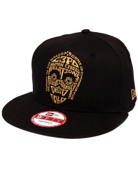 New Era - Men Black C-3Po Star Wars Cabesa Word 950 Snapback Hat