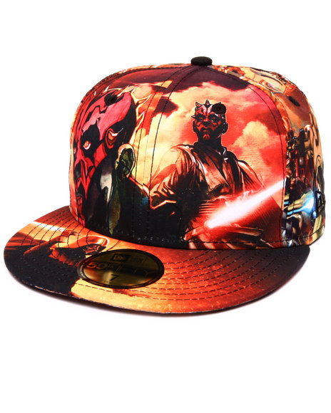 New Era - Men Multi Galactic All Over Star Wars 5950 Fitted Hat