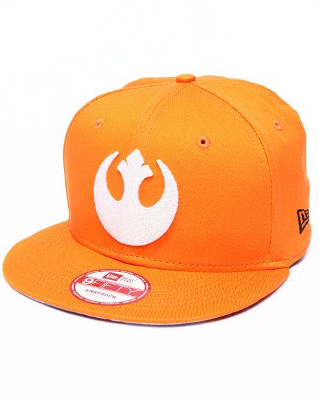 New Era - Men Orange Luke Skywalker Star Wars Sub Under 950 Snapback Hat