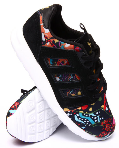 Adidas - Women Black,Multi Zx Restyle Sneakers
