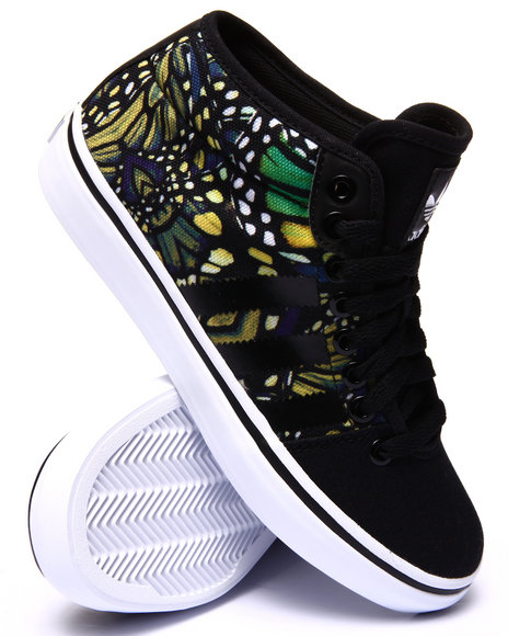 Adidas - Women Black Adria Mid Sneakers