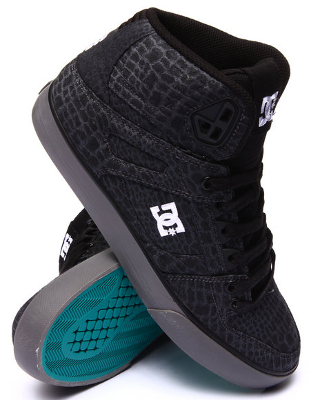 Dc Shoes - Men Black Spartan Hi W C - S E