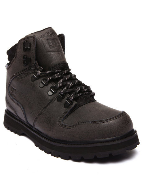Dc Shoes - Men Black Peary Leather Boots