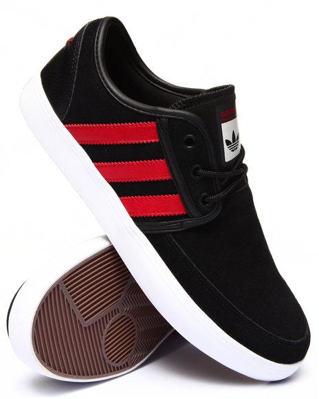 Adidas - Men Black Seeley Boat Sneakers