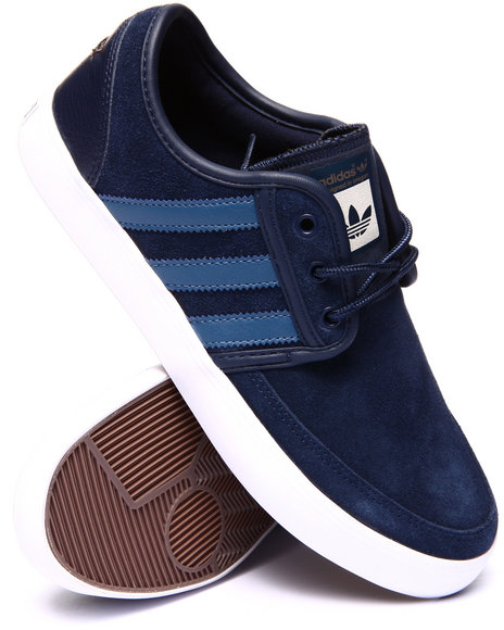 Adidas - Men Navy Seeley Boat Sneakers
