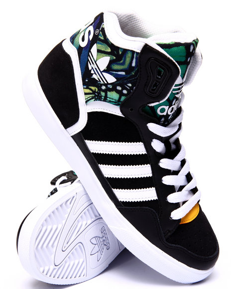 Adidas - Women Black,White Extaball W Sneakers - $75.00
