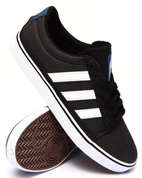 Adidas - Men Black Rayado Sneakers
