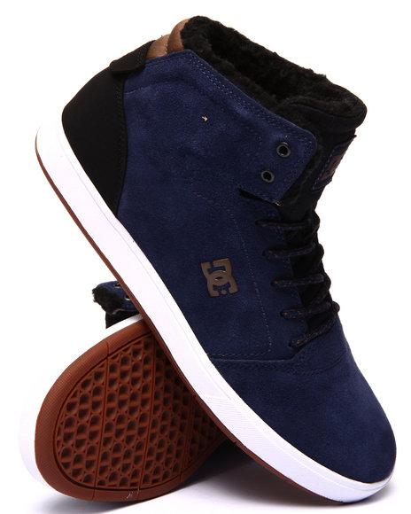 Dc Shoes - Men Navy Crisis Hi W N T - $57.99