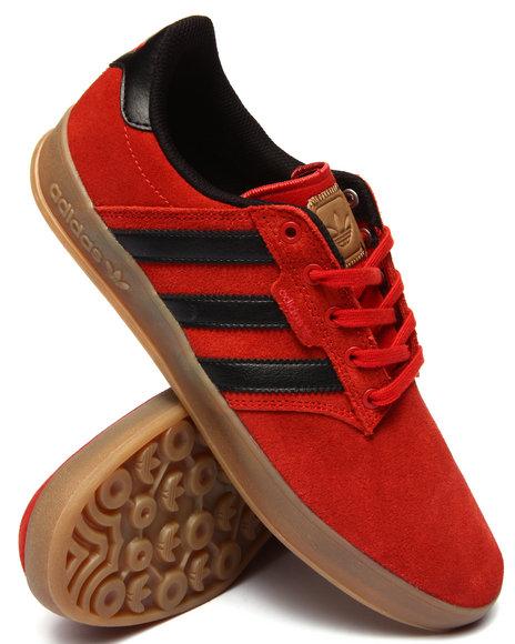 Adidas - Men Orange Seeley Cup Sneakers - $70.00