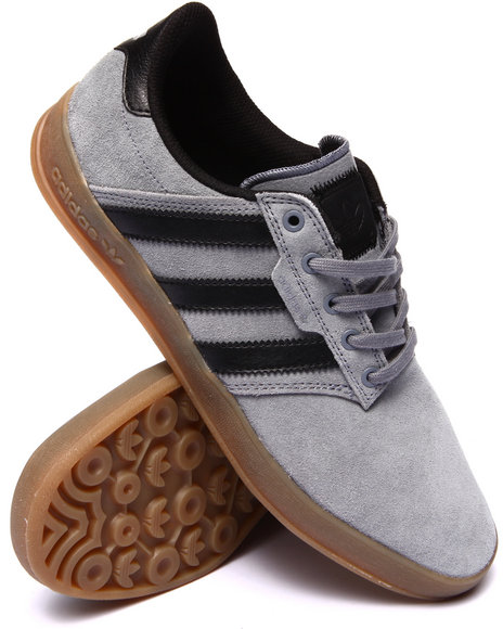 Adidas - Men Grey Seeley Cup Sneakers - $70.00