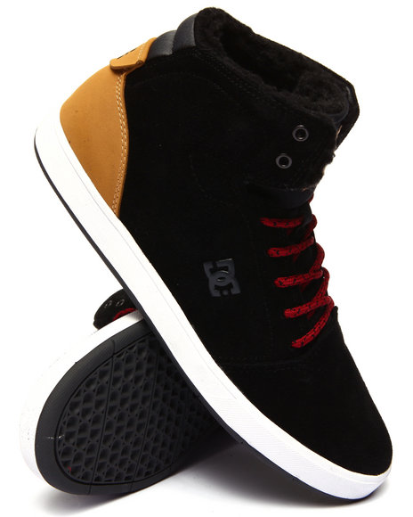Dc Shoes - Men Black Crisis Hi W N T