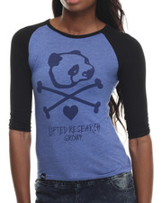 Long-Sleeve - Panda Fever Raglan Tee