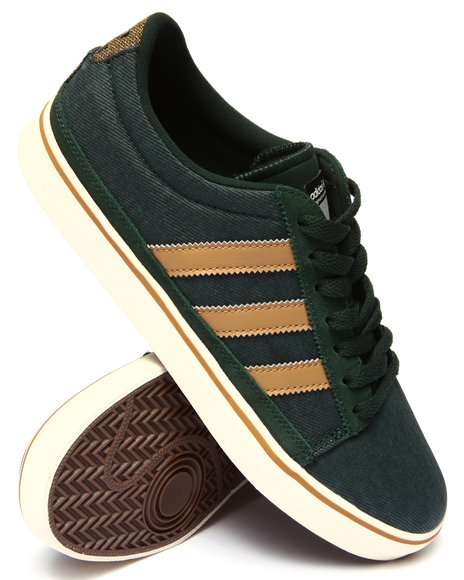 Adidas - Men Green Rayado Sneakers