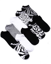 Accessories - Jungle Fever 10 Pk No Show Socks