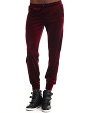 Bottoms - Rosa Velvet Jogger Pants