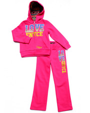 Sets - 2 PC LOVE ENYCE FLEECE SET (4-6X)
