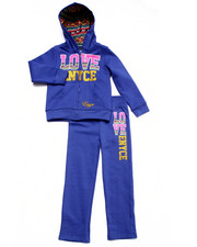 Girls - 2 PC LOVE ENYCE FLEECE SET (4-6X)