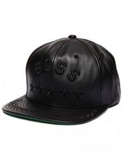 UNDFTD - Boss Leather Snapback Cap