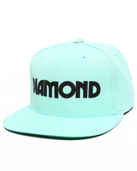 Diamond Supply Co Men Caroline Snapback Cap Teal