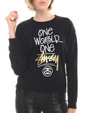 Women - One Stussy Sweatshirt