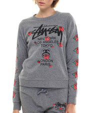 Women - Stussy Rose Sweatshirt