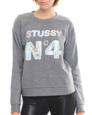 Sweatshirts - Stussy No. 4 Sequin Sweatshirt