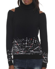 LRG - Iconic Shoulder Cut-Out Turtleneck Sweater