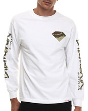 Diamond Supply Co - LS Camo Diamond L/S Tee