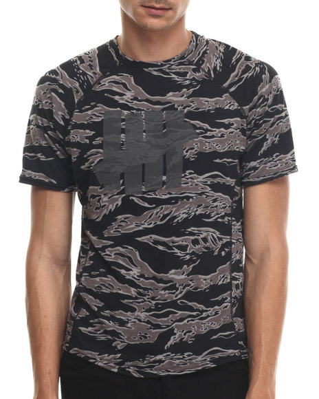 Undftd - Men Black,Camo Camo Technical Ii S/S Tee