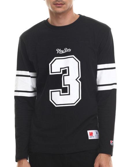 Undftd - Men Black 3 Football Shirt