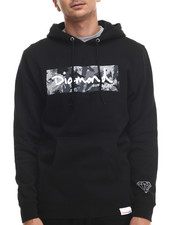 Diamond Supply Co - LS Camo Box Logo Hoodie