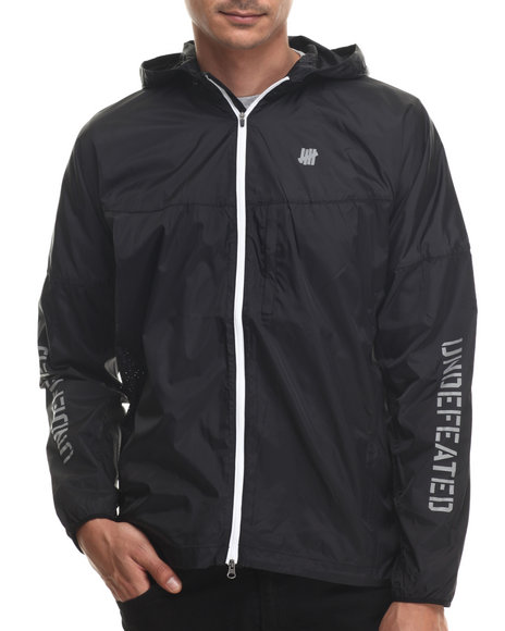 Undftd - Men Black Running Shell Ii Nylon Ripstop Jacket