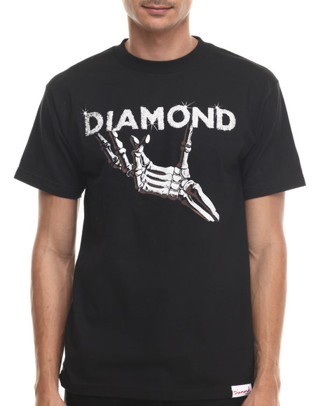Diamond Supply Co - Men Black Styx & Stones Tee