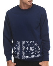 Men - Bandana Pocket Crew Sweatshirt