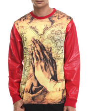 Men - World in Hands Sublimated L/S Shirt
